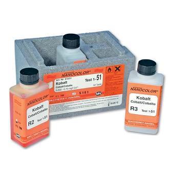 Стандарт-тесты NANOCOLOR® для фотометрического анализа воды Macherey-Nagel